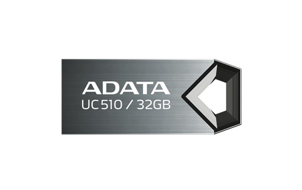 USB 2.0 flash disky A-Data UC510 32GB, titanium