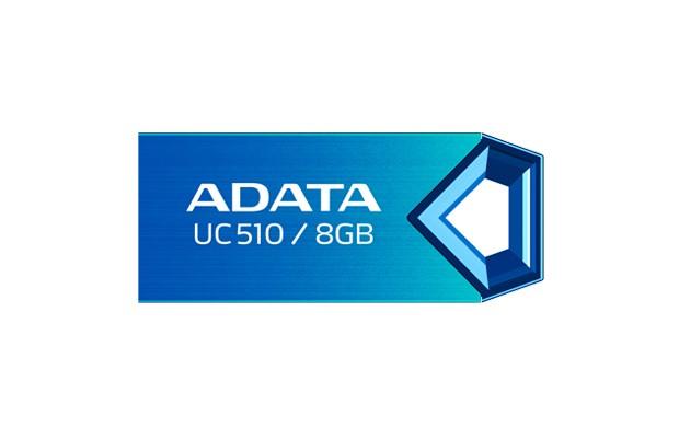 USB 2.0 flash disky A-Data UC510 8GB, modrý