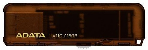 USB 2.0 flash disky ADATA DashDrive UV110 16GB hnedý