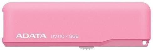 USB 2.0 flash disky ADATA DashDrive UV110 8GB ružový