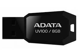 USB 2.0 flash disky ADATA UV100 8GB, čierny