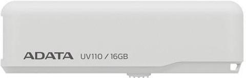 USB 2.0 flash disky ADATA UV110 16GB, biely