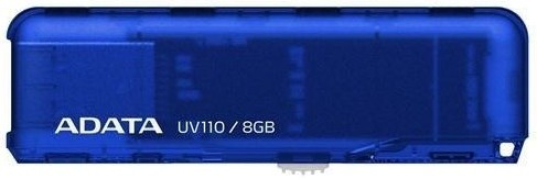 USB 2.0 flash disky ADATA UV110 8GB, modrá