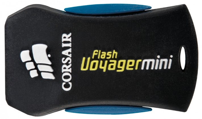 USB 2.0 flash disky Corsair Voyager Mini 8GB čierny