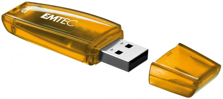 USB 2.0 flash disky Emtec C400 16GB oranžový