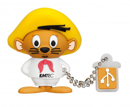 USB 2.0 flash disky Emtec LT Speedy L102 4GB žltý-biely