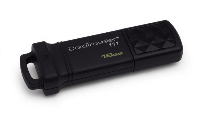 USB 2.0 flash disky Kingston DataTraveler 111 16GB čierny