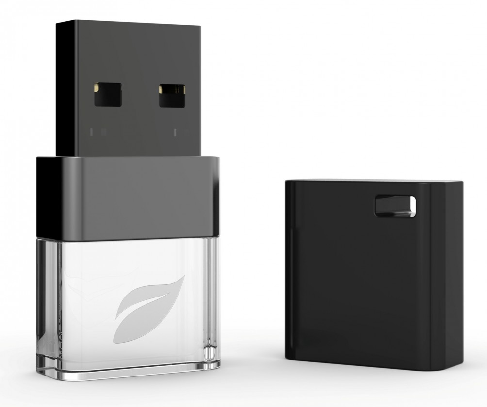 USB 2.0 flash disky Leef USB 16GB Ice 2.0 black-white