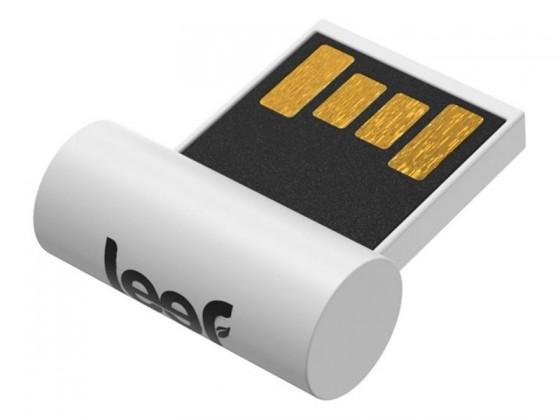 USB 2.0 flash disky Leef USB 16GB Surge 2.0 white