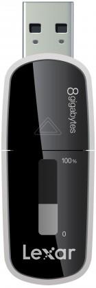 USB 2.0 flash disky Lexar Echo MX backup 8GB čierny
