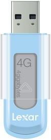 USB 2.0 flash disky Lexar JumpDrive S50 4GB modrý