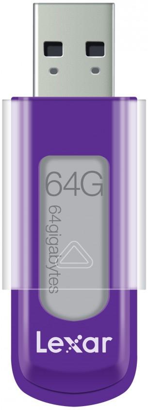 USB 2.0 flash disky Lexar JumpDrive S50 64GB fialový ROZBALENÉ