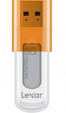 USB 2.0 flash disky Lexar JumpDrive S50 8GB modrý