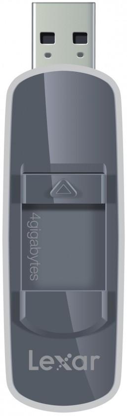 USB 2.0 flash disky Lexar JumpDrive S70 4GB čierny
