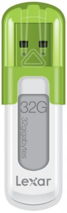 USB 2.0 flash disky Lexar JumpDrive V10 32GB biely