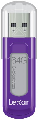 USB 2.0 flash disky Lexar JumpDrive V10 64GB fialový ROZBALENO