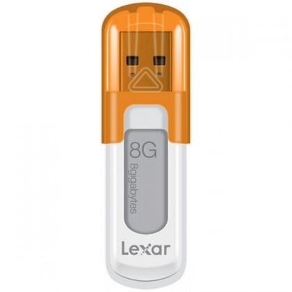 USB 2.0 flash disky Lexar JumpDrive V10 8GB oranžový