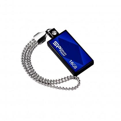 USB 2.0 flash disky Silicon Power Touch 810 16GB modrý