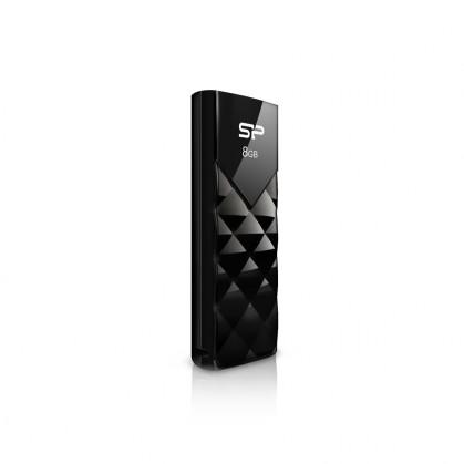 USB 2.0 flash disky Silicon Power Ultima U03 8GB čierny