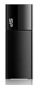 USB 2.0 flash disky Silicon Power Ultima U05 8GB čierny