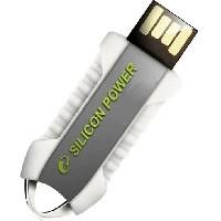 USB 2.0 flash disky Silicon Power Unique 530 8GB biely