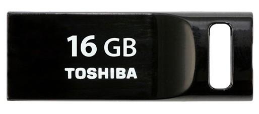 USB 2.0 flash disky Toshiba TransMemory 16GB čierny