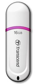 USB 2.0 flash disky Transcend JetFlash 330 16GB biely