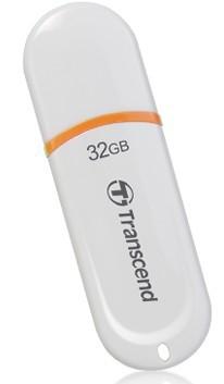 USB 2.0 flash disky Transcend JetFlash 330 32GB biely