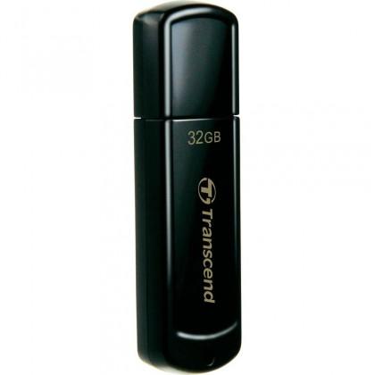 USB 2.0 flash disky Transcend JetFlash 350 32GB čierny