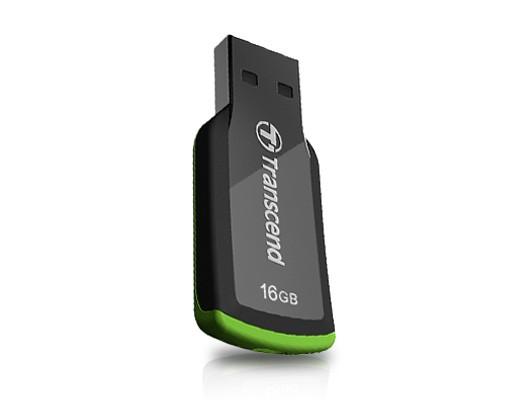 USB 2.0 flash disky Transcend JetFlash 360 16GB čierny