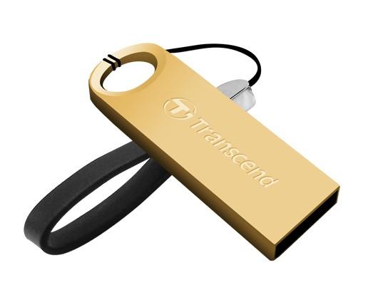 USB 2.0 flash disky Transcend JetFlash 520G 32GB zlatý