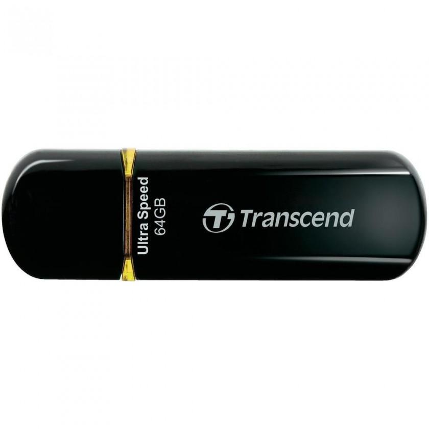 USB 2.0 flash disky Transcend JetFlash 600 64GB čierny