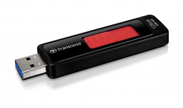 USB 2.0 flash disky Transcend JetFlash 760 128GB čierny