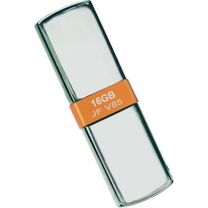 USB 2.0 flash disky Transcend JetFlash V85 16GB strieborný