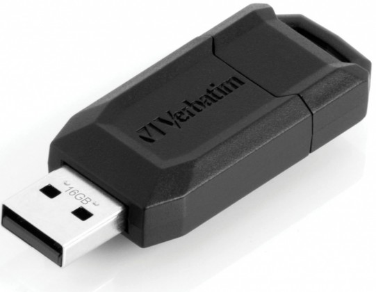 USB 2.0 flash disky Verbatim Secure 'n' Go Secure Data 16GB čierny