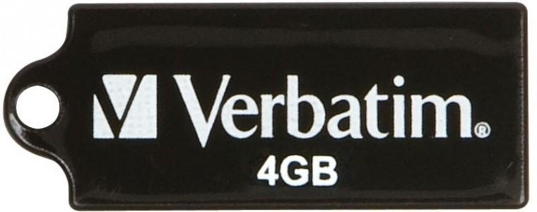 USB 2.0 flash disky Verbatim Store 'n' Go Micro 4GB čierny