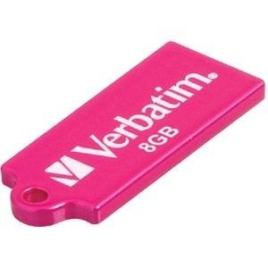 USB 2.0 flash disky Verbatim Store 'n' Go Micro 8GB ružový