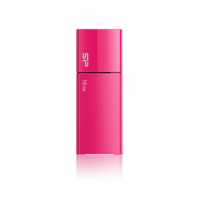 USB 2.0 Silicon Power Ultima U05 16GB ružový