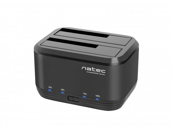 USB 3.0 dokovacia stanica pre HDD Natec Kangaroo Dual (NSD-0955)