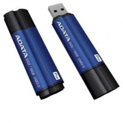 USB 3.0 flash disky Adata Superior S102 Pro 64GB, USB 3.0, modrý