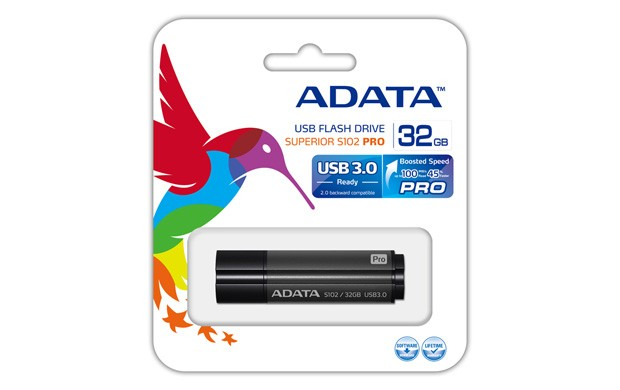 USB 3.0 flash disky ADATA Superior series S102 Pro 32GB AS102P-32G-RGY