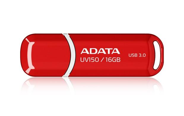 USB 3.0 flash disky ADATA UV150 16GB (AUV150-16G-RRD) červený