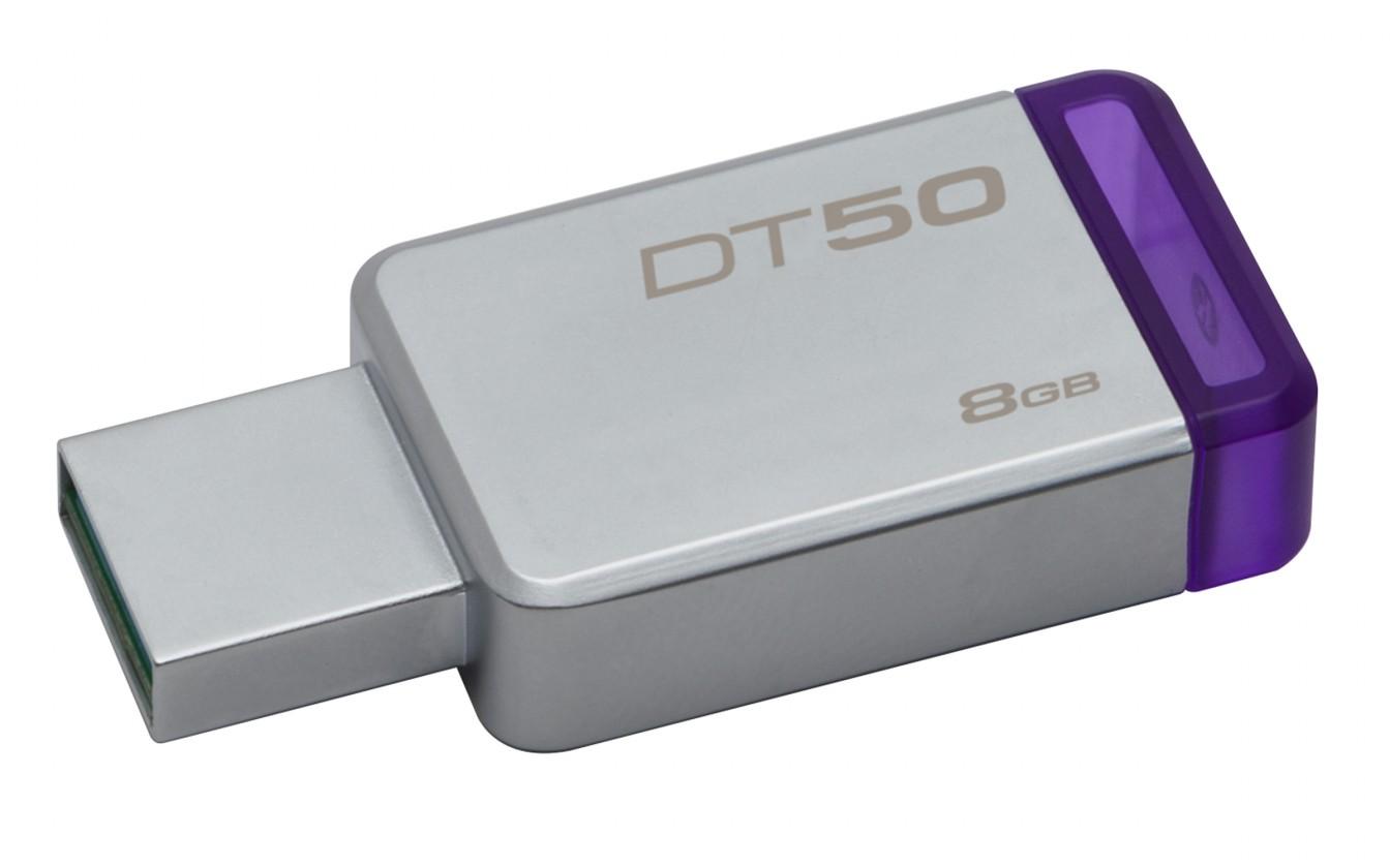 USB 3.0 flash disky Kingston DataTraveler 50 8GB DT50/8GB