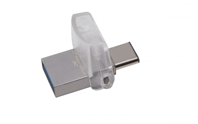 USB 3.0 flash disky Kingston DataTraveler MicroDuo 3C 64GB USB 3.0 (DTDUO3C/64GB)