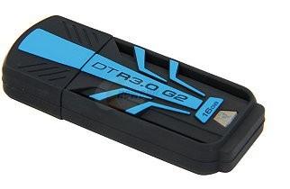 USB 3.0 flash disky Kingston DataTraveler R3.0 G2 16GB