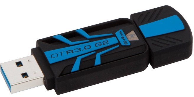 USB 3.0 flash disky Kingston DataTraveler R30 64GB