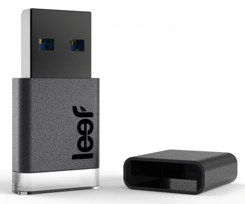 USB 3.0 flash disky Leef USB 32GB Magnet 3.0 charcoal