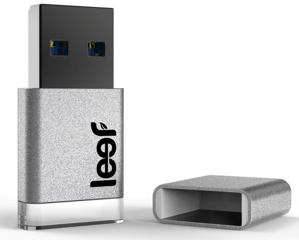 USB 3.0 flash disky Leef USB 32GB Magnet 3.0 silver