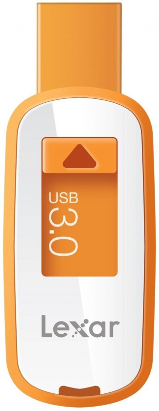 USB 3.0 flash disky Lexar JumpDrive S23 8GB oranžový