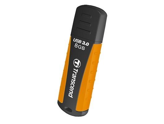 USB 3.0 flash disky Transcend JetFlash 810 8GB oranžový